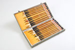 20 Piece Traditional Chinese Calligraphy and Sumi Brush Set