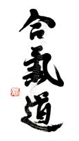 Aikido Kanji Symbol Large Designs