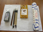 Basic Sumi Watercolor Painting Kit