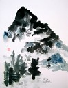Japanese Painting, Mountain Paintings