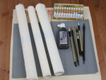 Starter Kit for Chinese And Japanese Brush Painting or Sumi-e