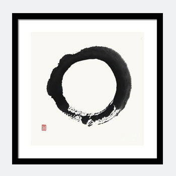 Buy Zen Enso painting - Print