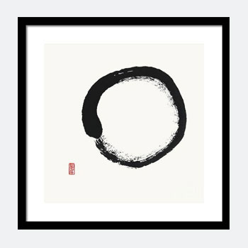 Buy Zen Enso Black and White