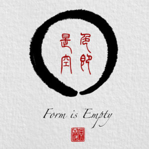 Form is Empty and an Enso by Tom