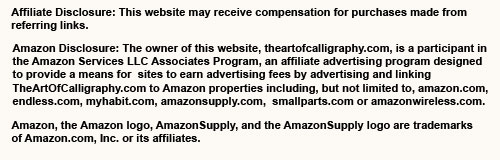 Affiliate and Amazon Disclosure