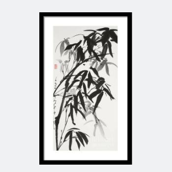 Buy Bamboo Sumi-E Print