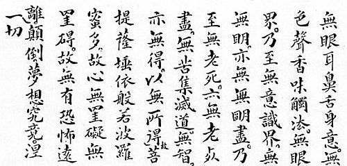 Heart Sutra English, Part 2