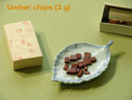 Umber Pigments Chips